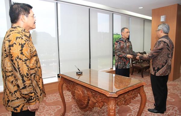 Sertijab Kepala Badan Pengawasan MA