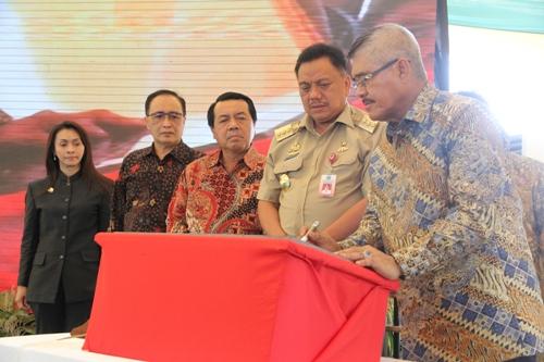 KMA RESMIKAN 85 PENGADILAN BARU DI UJUNG UTARA INDONESIA