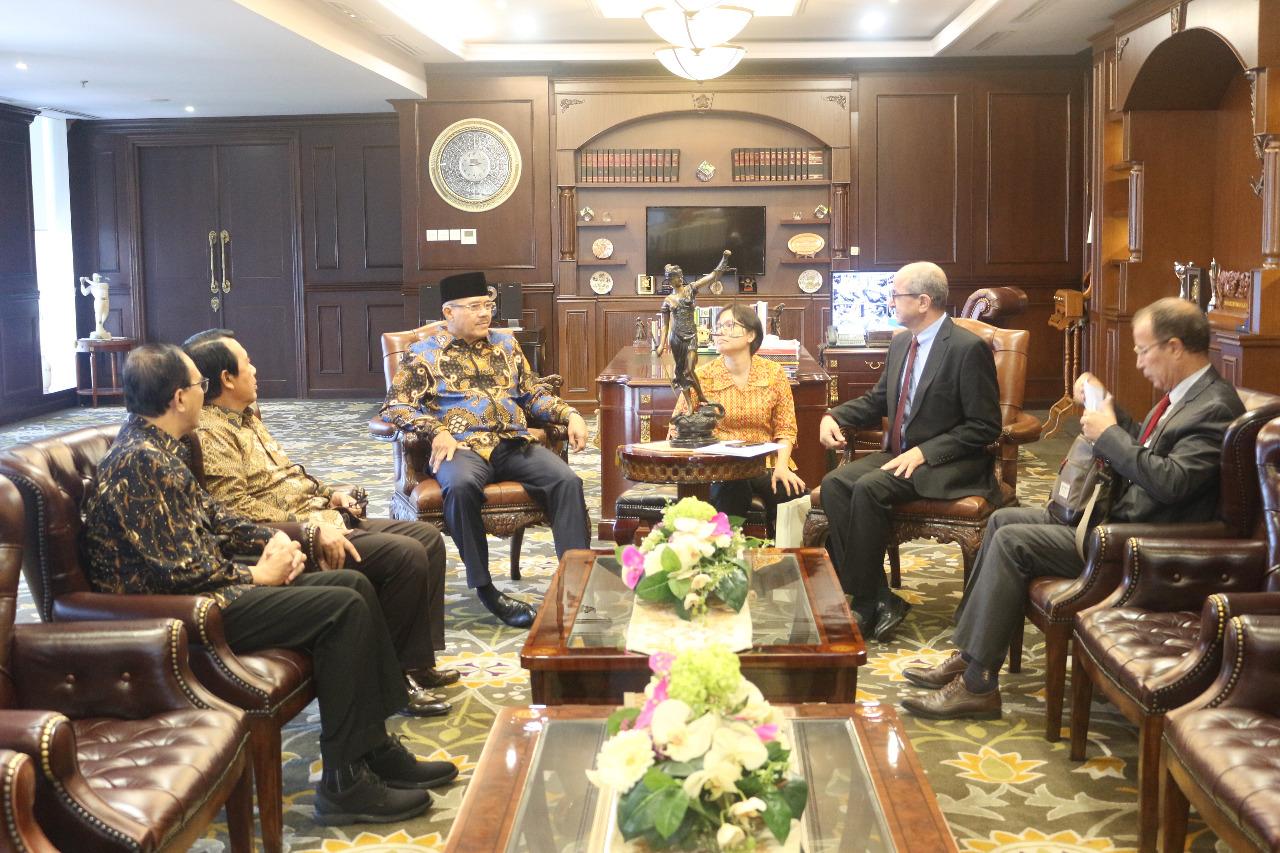 KMA MENERIMA KUNJUNGAN KEHORMATAN DUTA BESAR MAROKO UNTUK INDONESIA