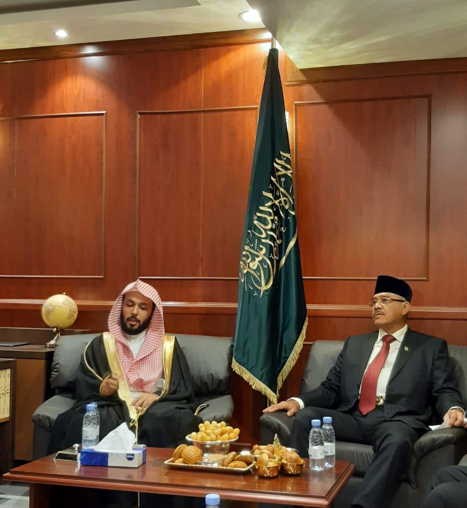 KETUA MAHKAMAH AGUNG REPUBLIK INDONESIA DAN DELEGASI KUNJUNGI PENGADILAN KETENAGAKERJAAN MAKKAH