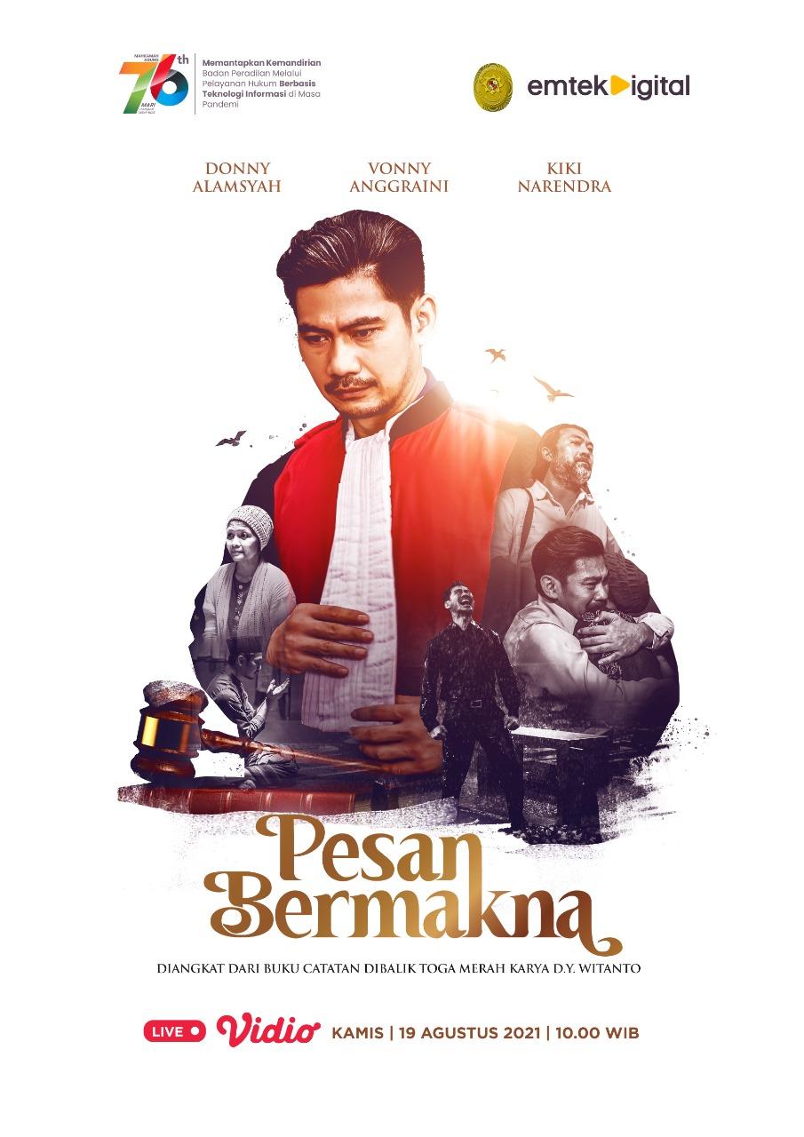 FILM PESAN BERMAKNA, KADO ISTIMEWA ULANG TAHUN MA KE-76